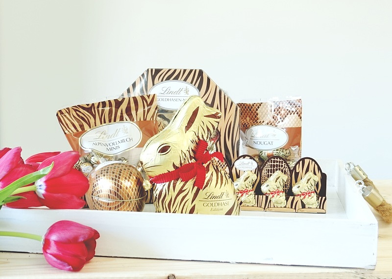 Lindt Goldhase in ANimalprint