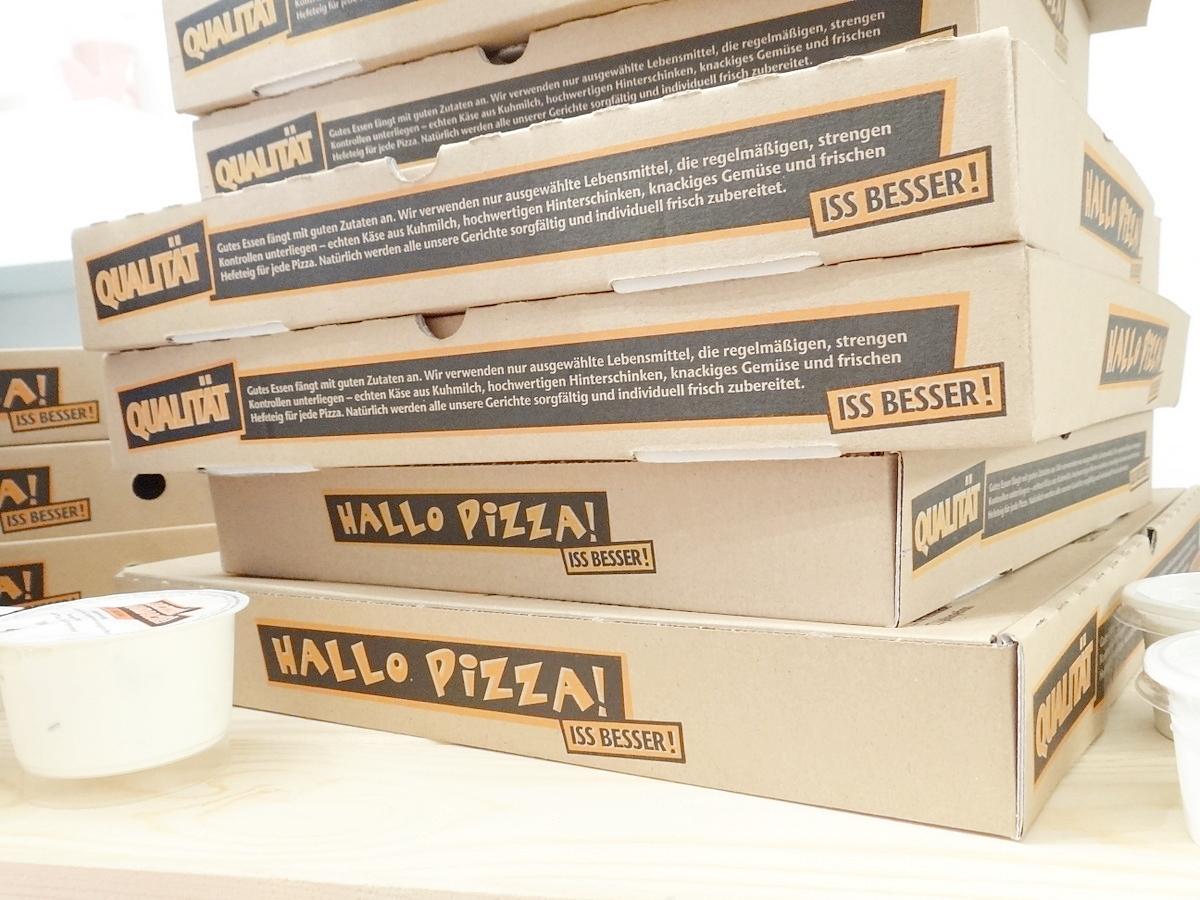 Hallo Pizza Bestellung