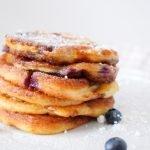 Blaubeeren Pancakes #rezept