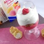 Dessertkreation mit Mousse Zauber aus der Degustabox November
