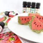 Wassermelonen Kuchen mit Aroma