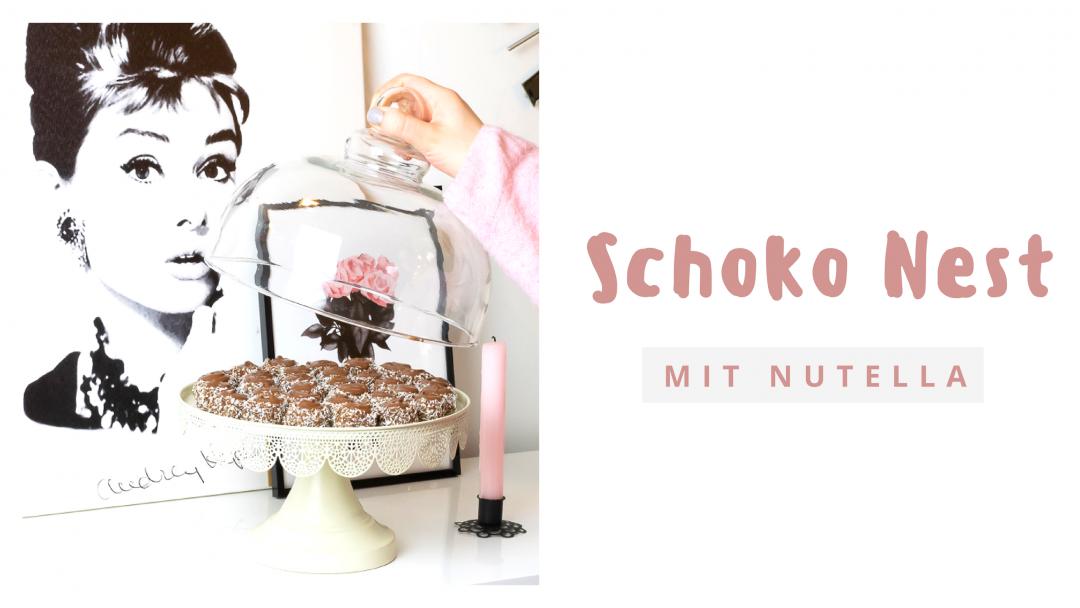 Schoko Nest Nutella Kuchen Ganz Ohne Backen