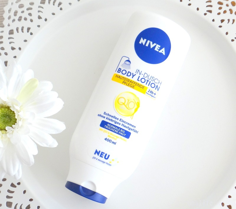 Nivea Q10 In Dusch Body Lotion Test