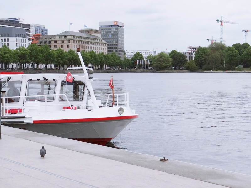 Hamburg Alster Binnenalster