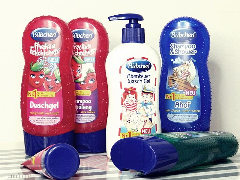 neue  Bübchen Duschen für Kinder