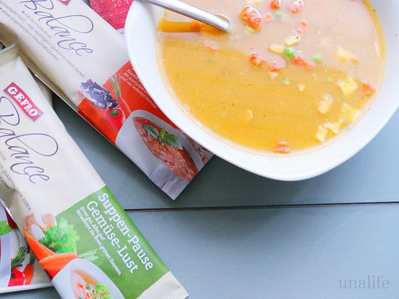 Gemüse suppe gefro