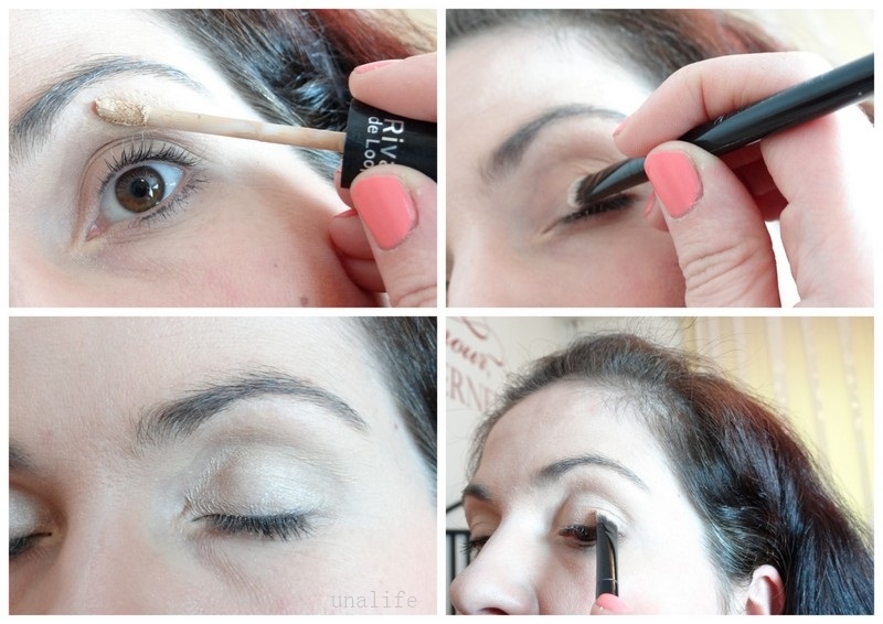 Eyeshadow Base Auftragen Augen Make Up Schritt 1 Unalife