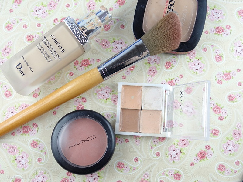 Make up Sommer Look Make up Dior, Mac Blush, Indefectible Puder