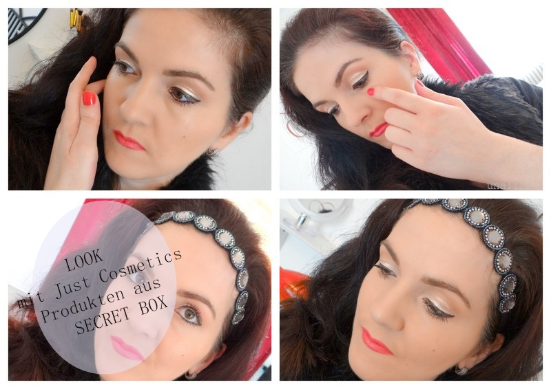 Tragebilder Secret Box Just Cosmetics