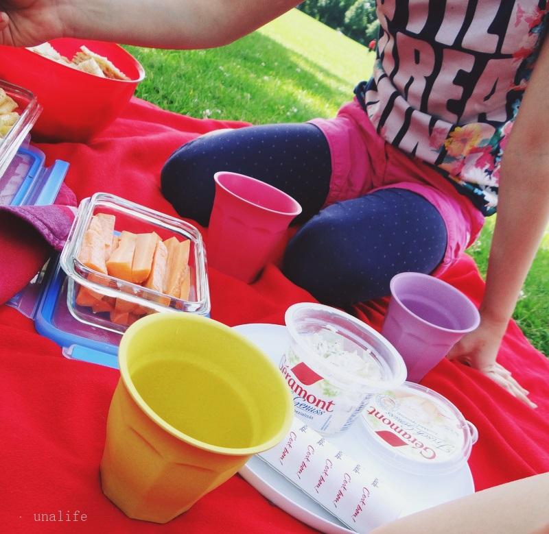Picknick mit Géramont