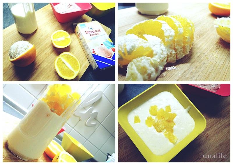 Sommer Joghurt mit Ddiamant Mousse Zauber
