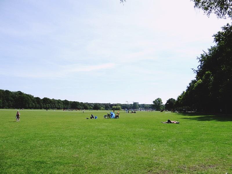 Stadtpark Hamburg Picknick