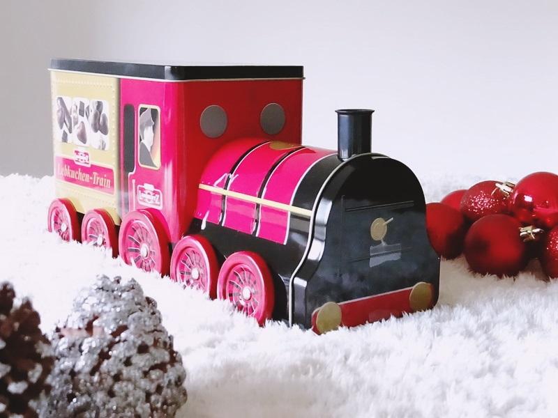 Geschenke Truhe Mabertz Train Lok Lebkuchen