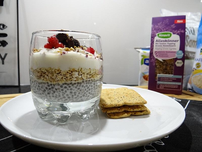 Chia -Joghurt-Müsli