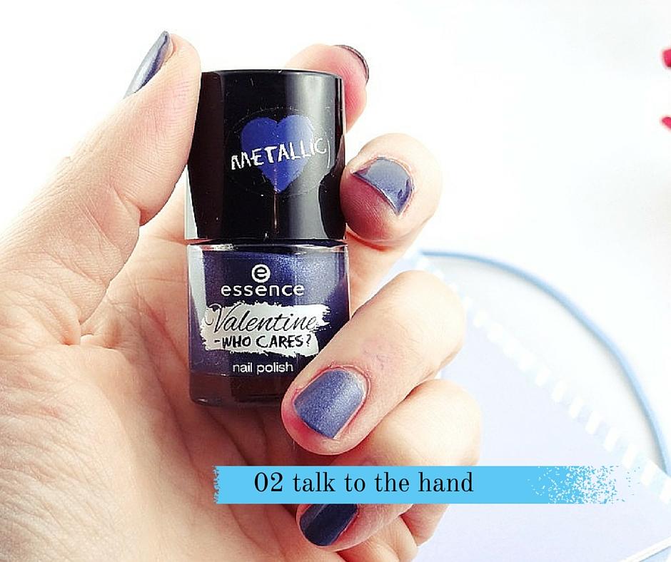 Essence talk to the hand nagellack mettalic