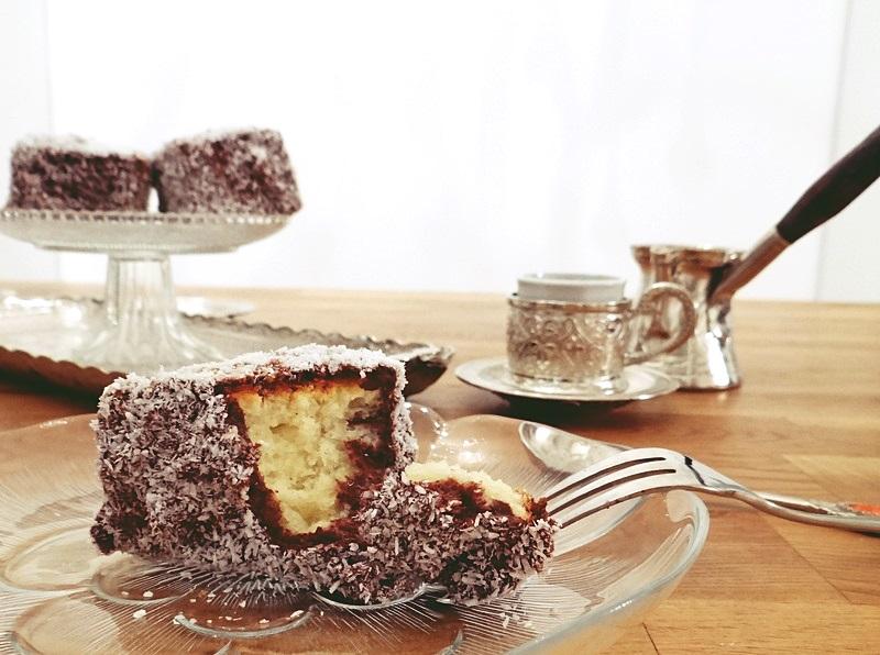 Schoko und Kokos Kuchen