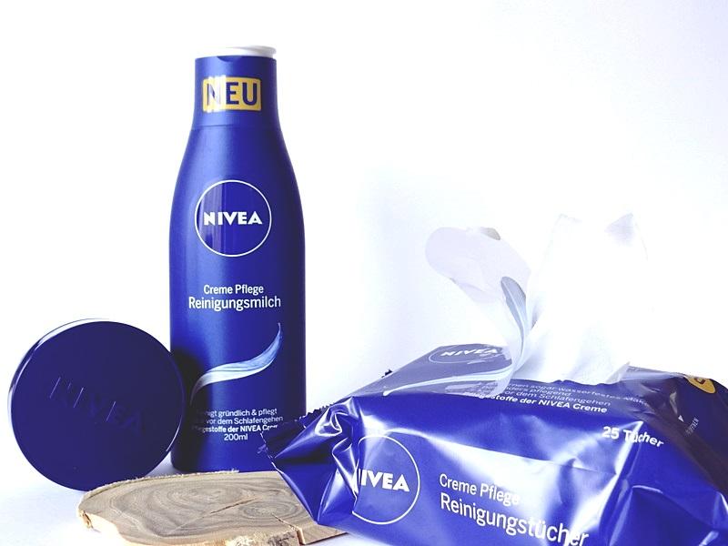 Nivea Reinigungsmilch, Nivea Reinigungstücher, Nivea Nachtcreme
