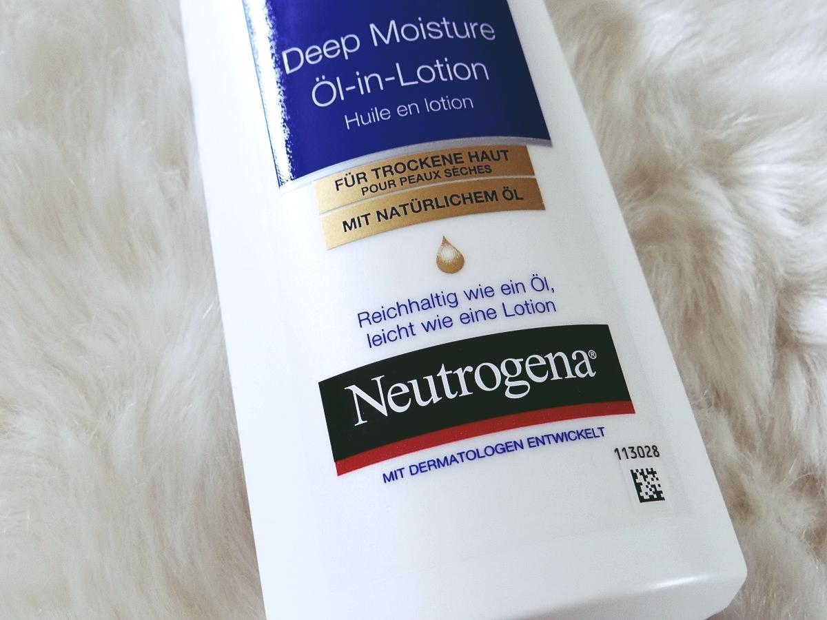 Test Deep Moisture Öl-in-Lotion Neutrogena