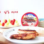 Barbecue in der Küche mit Meggle Dip&Top