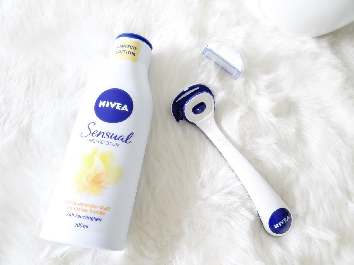 Nivea Protect & Shave Schwinggelenkrasierer