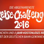Werde Teil der Reise Challenge der DB