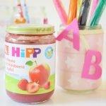 DIY Stiftebecher! So kannst du HIPP Gläschen weiternutzen