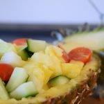 Idee für den Abendsnack – Ananas Salat