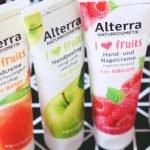 I ❤ fruits von Alterra! Hast du schon mal ein Handpeeling gemacht?