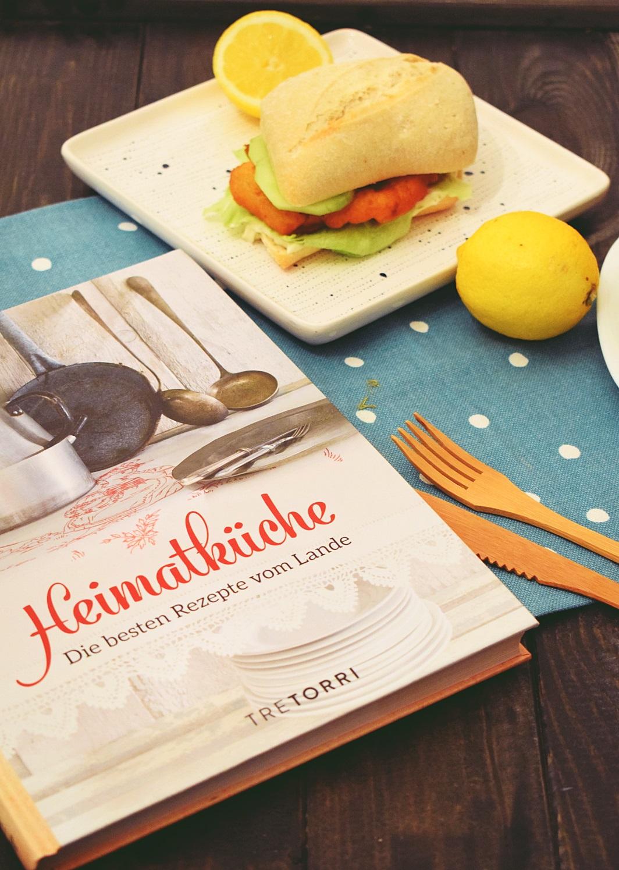 Rezept für Backfischbrötchen aus dem Buch Heimatküche