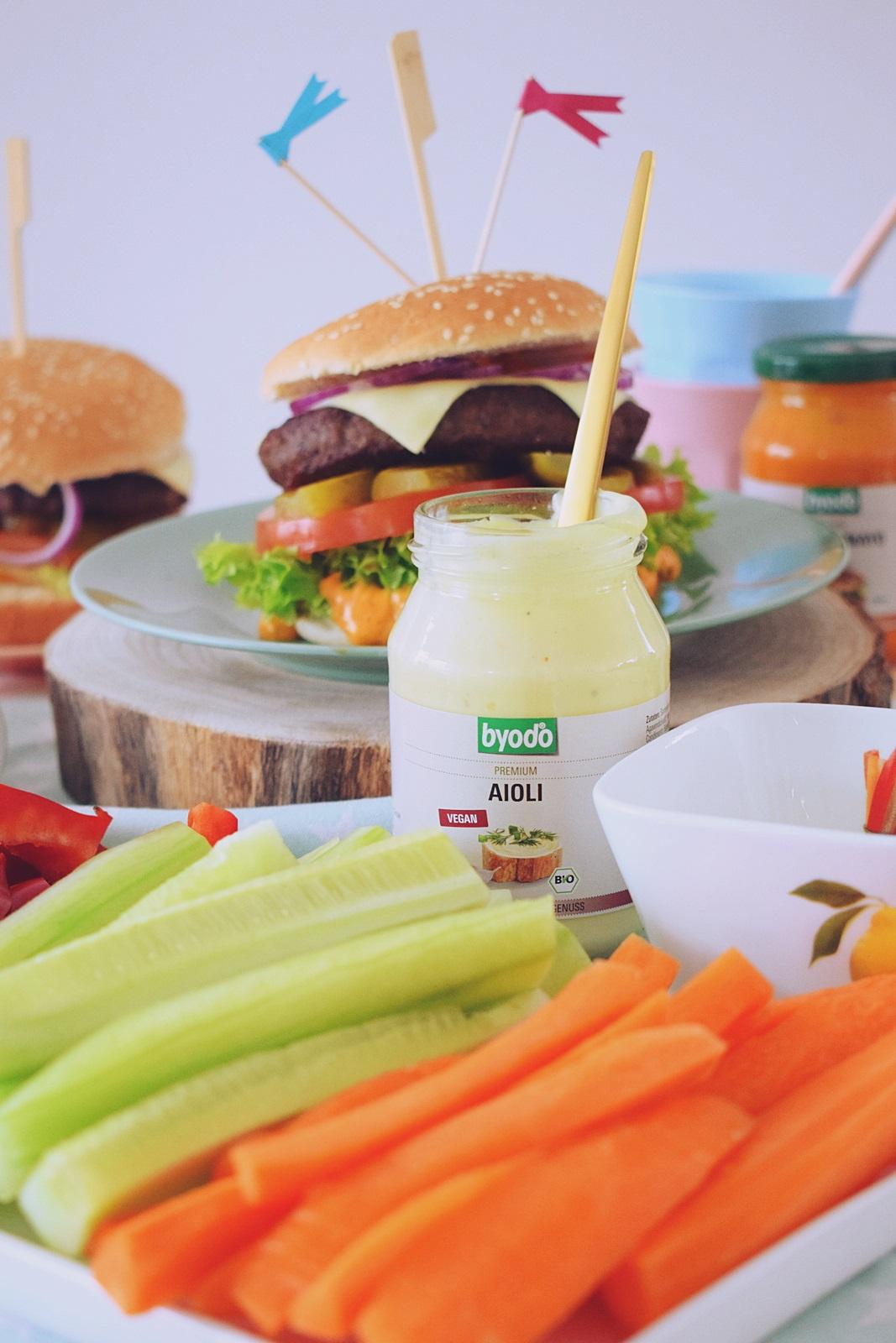 Rezept Bunter Burger