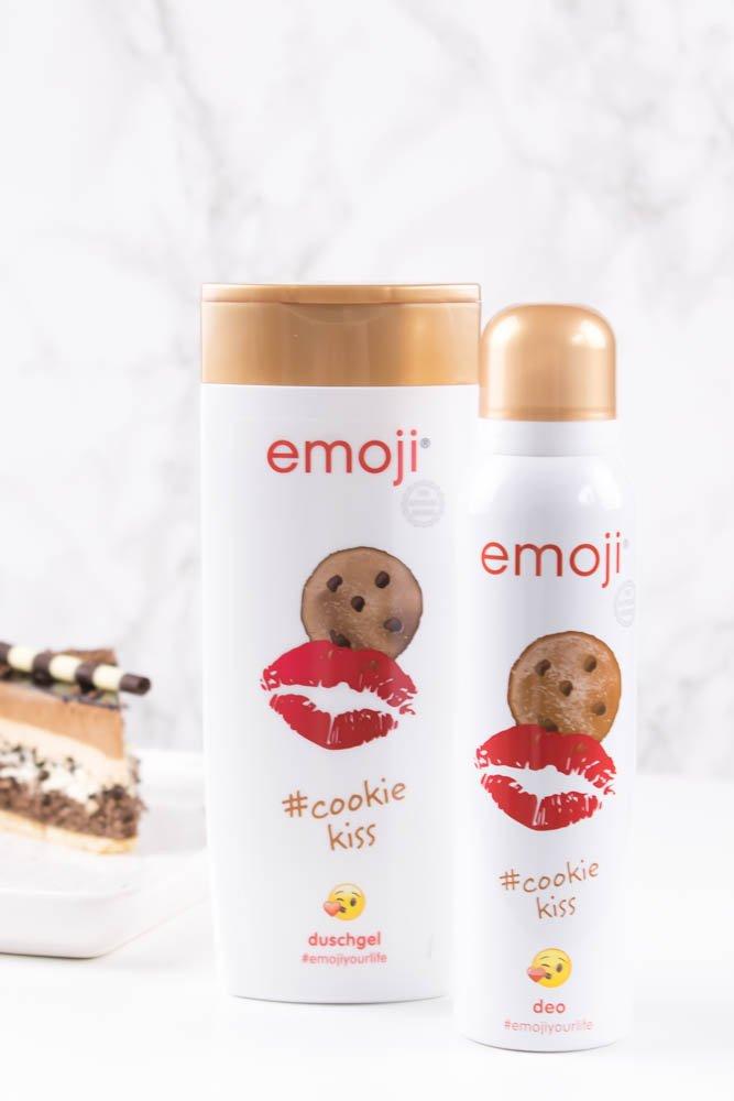 Emoji Duschgel und Deo Cookie Kiss