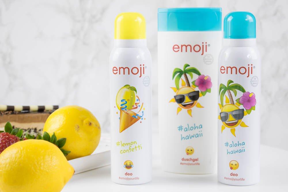 Emoji Lemon Confetti Emoji aloha hawaii