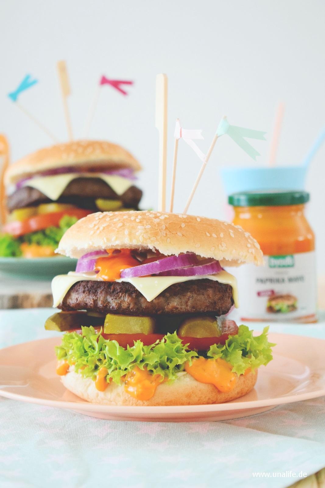 Rezept - Burger mit Byodo