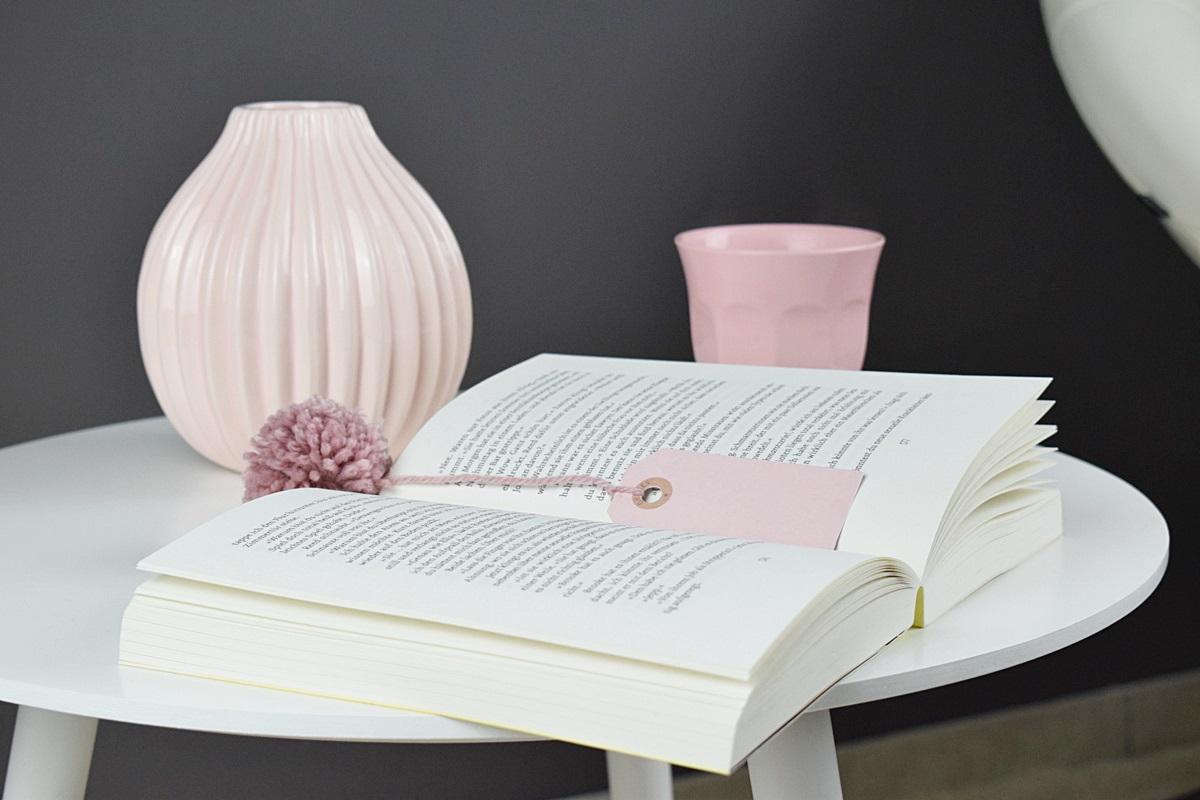 Buch Lesezeichen basteln, selbermachen