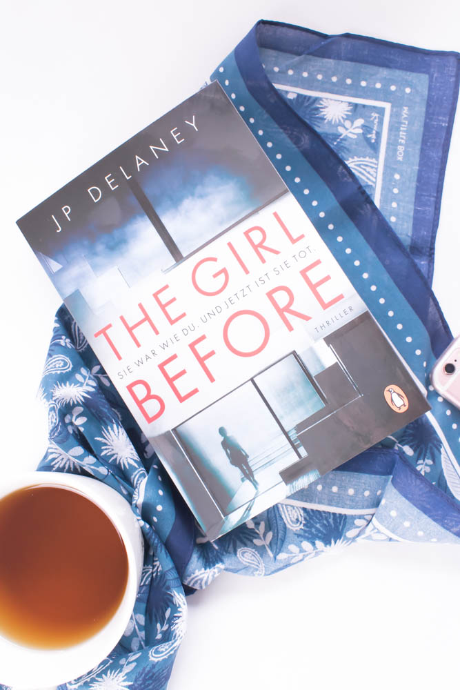 the Girl before - das Buch