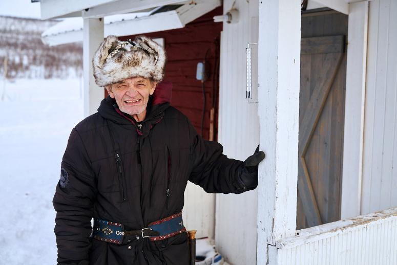 Alter Schwede - Ake einziger Mensch in Naimakka