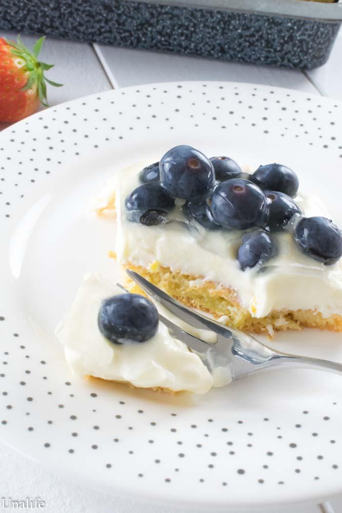 Obstsalat Früchtekuchen