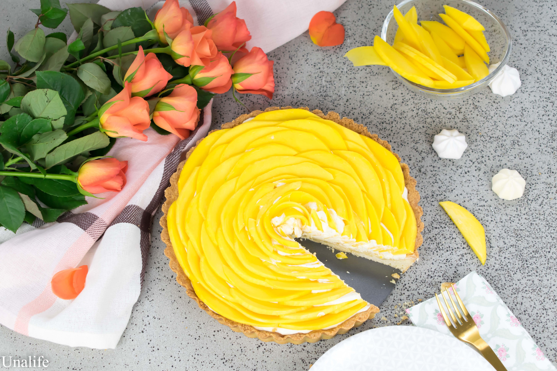Mango Tarte Rezept