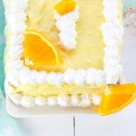 Sommer Torte mit Orangen