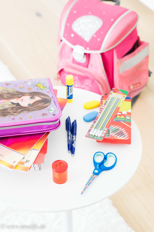 Grundausstattung zum Schulanfang