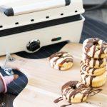 Rezepte mit Gourmet-Chef von Efbe: gefüllte Nutella Donuts & Chili-Zitrone-Lachs