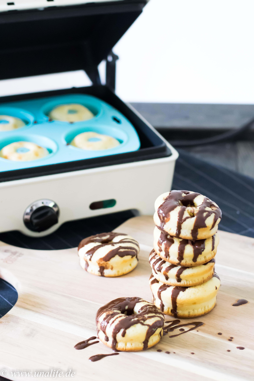 gefüllte Nutella Donuts - Rezept