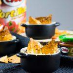 Mini Salsa Party Auflauf mit Chio Tortillas
