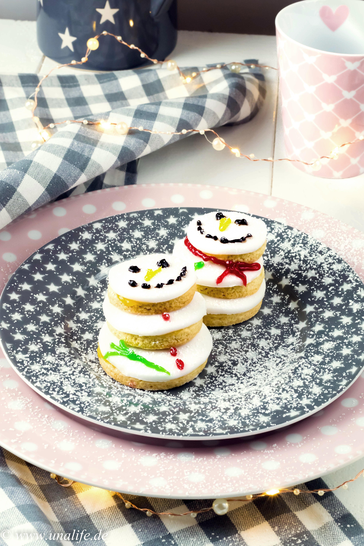 Schneemann Kekse