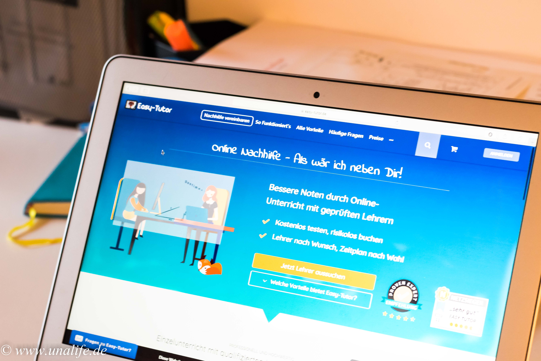 Easy Tutor Nachhilfe online