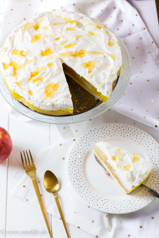 Apfeltorte mit Vanille