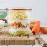 Der beste Party Salat – Mimosa Salat im Glas