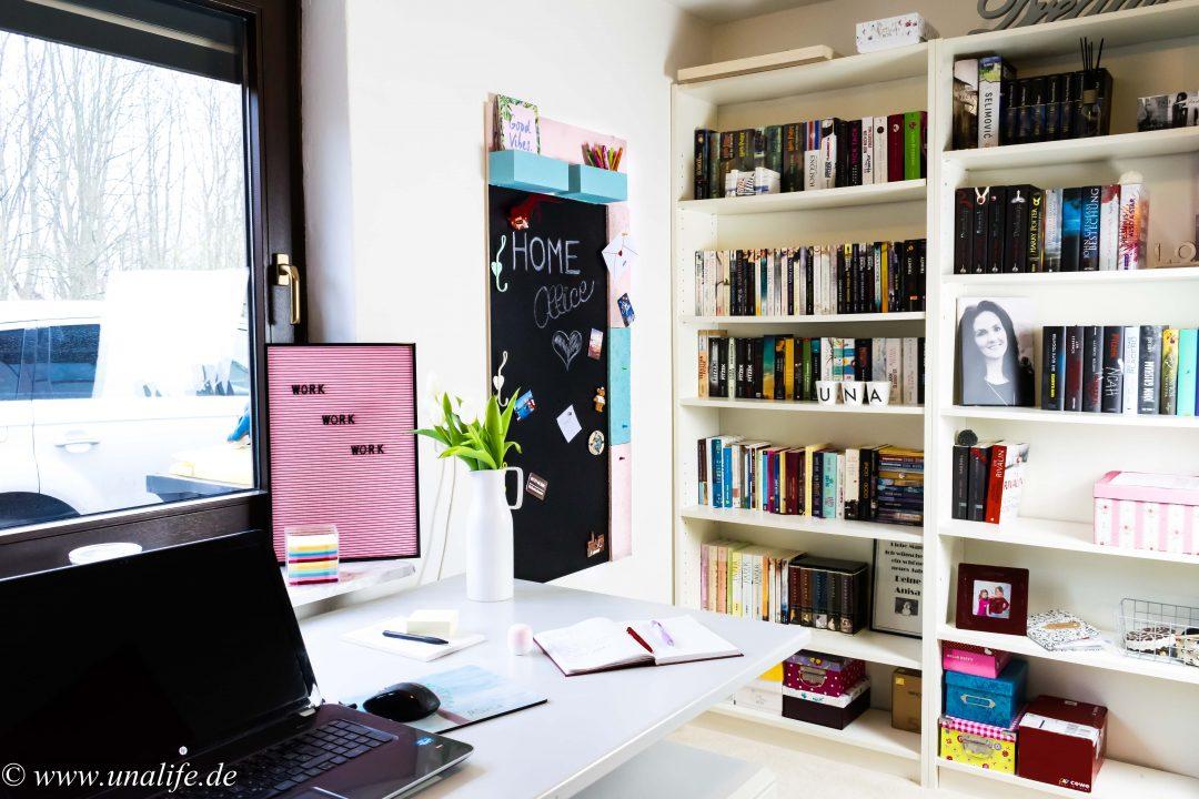 Home Office: Magnettafel & Pinnwand DIY fürs Büro - Unalife