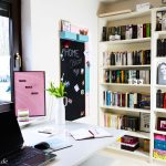 Home Office: Magnettafel & Pinnwand DIY fürs Büro