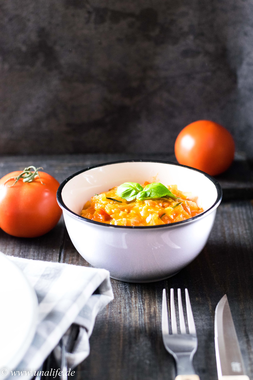 Tomaten Basilikum Sauce